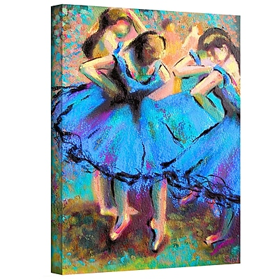 "ArtWall ""My Degas"" Gallery Wrapped Canvas Art By Susi Franco, 32"" x 24"""
