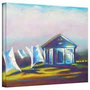 "ArtWall ""March Laundry"" Gallery Wrapped Canvas Arts By Susi Franco"