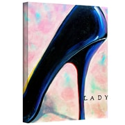 """ArtWall """"Lady"""" Gallery Wrapped Canvas Arts By Susi Franco"""