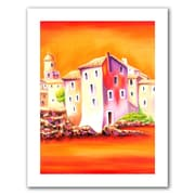 """ArtWall """"Sunset"""" Unwrapped Canvas Art By Susi Franco, 24"""" x 18"""""""