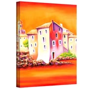 """ArtWall """"Sunset"""" Gallery Wrapped Canvas Art By Susi Franco, 32"""" x 24"""""""