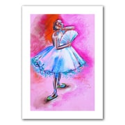 "ArtWall ""Interpretation of Ballerina With..."" Unwrapped Canvas Art By Susi Franco, 24"" x 16"""