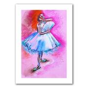 "ArtWall ""Interpretation of Ballerina With..."" Unwrapped Canvas Art By Susi Franco, 18"" x 12"""
