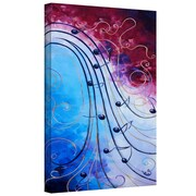 "ArtWall ""Music"" Gallery Wrapped Canvas Arts By Shiela Gosselin"