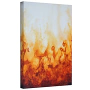 "ArtWall ""Amber Flame"" Gallery Wrapped Canvas Arts By Shiela Gosselin"