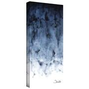 """ArtWall """"Blue Watery"""" Gallery Wrapped Canvas Arts By Shiela Gosselin"""