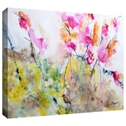 "ArtWall ""Summer Pink"" Gallery Wrapped Canvas Arts By Karin Johannesson"