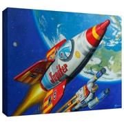 "ArtWall ""Space Patrol2"" Gallery Wrapped Canvas Arts By Eric Joyner"