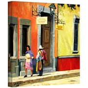 """ArtWall """"Streets of Mexico"""" Gallery Wrapped Canvas Art By Rick Kersten, 36"""" x 36"""""""