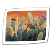 "ArtWall ""Cactus Orange"" Unwrapped Canvas Art By Rick Kersten, 36"" x 48"""