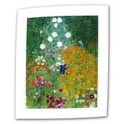 "ArtWall ""Beethoven Frieze"" Flat/Rolled Canvas Art By Gustav Klimt, 10"" x 18"""