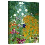 "ArtWall ""Beethoven Frieze"" Gallery Wrapped Canvas Art By Gustav Klimt, 10"" x 18"""