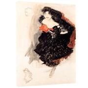 "ArtWall ""Hopeful"" Gallery Wrapped Canvas Arts By Gustav Klimt"