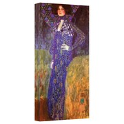 "ArtWall ""Friends"" Gallery Wrapped Canvas Arts By Gustav Klimt"