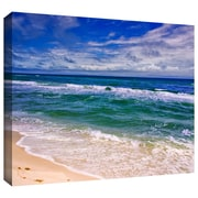 """ArtWall """"Changing Tides"""" Gallery Wrapped Canvas Art By David Liam Kyle, 24"""" x 36"""""""