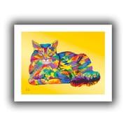 """ArtWall """"Giles"""" Unwrapped Canvas Art By Linzi Lynn, 14"""" x 18"""""""