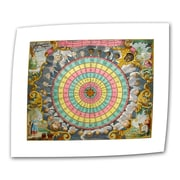 "ArtWall ""Pyxis Nautica Compass Charte"" Unwrapped Canvas Art, 30"" x 36"""