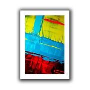 "ArtWall ""Boundaries"" Flat Unwrapped Canvas Arts By Byron May"