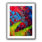 "ArtWall ""Fun"" Flat Unwrapped Canvas Arts By Byron May"