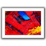 """ArtWall """"Passionate Explosion"""" Flat Unwrapped Canvas Art By Byron May, 32"""" x 48"""""""