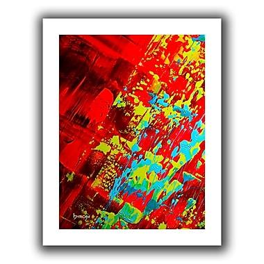 Antonio Raggio 'Rocks' Unwrapped Canvas, 16'' x 48''