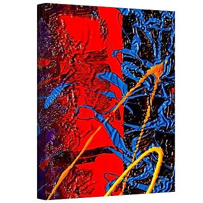 Antonio Raggio 'Waves' Gallery-Wrapped Canvas, 12'' x 36''