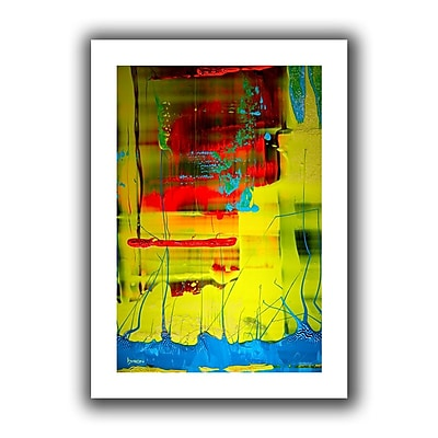 Antonio Raggio 'Blooming Flowers' Gallery-Wrapped Canvas, 32'' x 48''