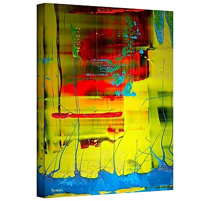 Antonio Raggio 'Blooming Flowers' Unwrapped Canvas, 24'' x 36''