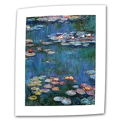 Antonio Raggio 'Flower Petals' Gallery-Wrapped Canvas, 16'' x 24''