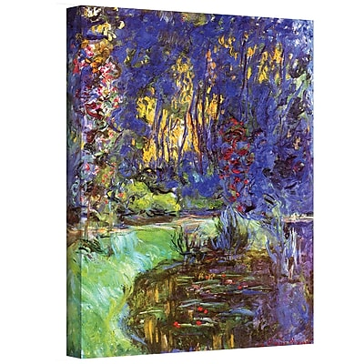 "ArtWall ""Giverny"" Gallery Wrapped Canvas Art By Claude Monet, 24"" x 32"""