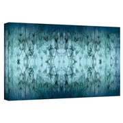 """ArtWall """"Coincident Series V"""" Gallery Wrapped Canvas Art By Cora Niele, 12"""" x 36"""""""