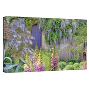 """ArtWall """"Cottage Garden"""" Gallery Wrapped Canvas Arts By Cora Niele"""