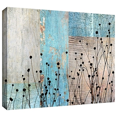 """ArtWall """"Dark Silhouette I"""" Gallery Wrapped Canvas Art By Cora Niele, 32"""" x 48"""""""