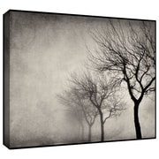 "ArtWall ""Early Morning Sepia"" Gallery Wrapped Canvas Arts By Cora Niele"