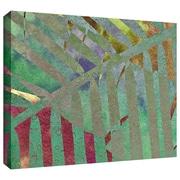 "ArtWall ""Leaf Shades II"" Gallery Wrapped Canvas Arts By Cora Niele"