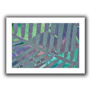 """ArtWall """"Leaf Shades III"""" Flat Unwrapped Canvas Art By Cora Niele, 16"""" x 24"""""""