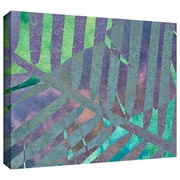 """ArtWall """"Leaf Shades III"""" Gallery Wrapped Canvas Arts By Cora Niele"""