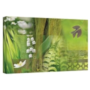 "ArtWall ""Spring"" Gallery Wrapped Canvas Arts By Cora Niele"