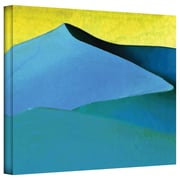 "ArtWall ""Evening at The Dunes"" Gallery Wrapped Canvas Art By Linda Parker, 18"" x 24"""