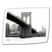 "ArtWall ""NYC's Brooklyn Bridge"" Unwrapped Canvas Arts By Linda Parker"