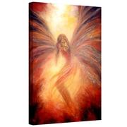 "ArtWall ""Fallen Angel"" Gallery Wrapped Canvas Arts By Marina Petro"