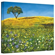 "ArtWall ""Golden Meadow"" Gallery Wrapped Canvas Art By Marina Petro, 18"" x 24"""
