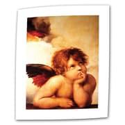 """ArtWall """"Cherub"""" Rolled Canvas Arts By Raphael"""