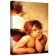 "ArtWall ""Cherub"" Gallery Wrapped Canvas Arts By Raphael"