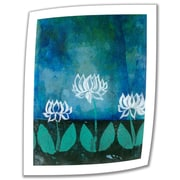 """ArtWall """"Lotus Blossoms"""" Unwrapped Canvas Art By Elena Ray, 18"""" x 14"""""""