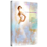 "ArtWall ""Diva I"" Gallery Wrapped Canvas Arts By Greg Simanson"
