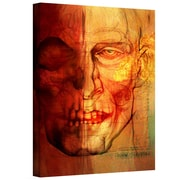 "ArtWall ""Facial Anatomy"" Gallery Wrapped Canvas Arts By Greg Simanson"