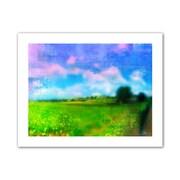"ArtWall ""Homeland"" Flat Unwrapped Canvas Arts By Greg Simanson"