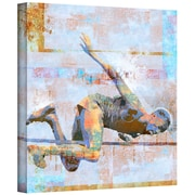 """ArtWall """"Jump"""" Gallery Wrapped Canvas Art By Greg Simanson, 18"""" x 18"""""""