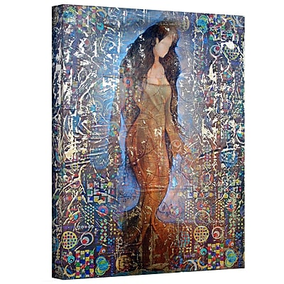 "ArtWall ""Stained Interlude"" Gallery Wrapped Canvas Art By Greg Simanson, 24"" x 18"""